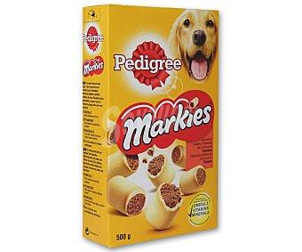 Pedigree Snacks para perros Markies rellenos de carne Caja 500 g