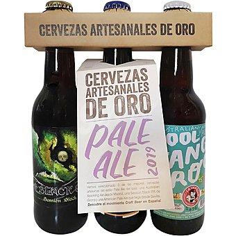 BrewDog Cerveza artesanal de oro Selección Especial Kool Kangaroo, Black Sea y La Favorita Pack 3 botellas 33 cl