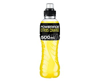 Powerade Bebida deportiva sabor cítrico Botella de 50 centilitros