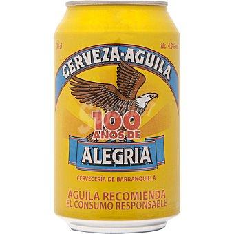 AGUILA cerveza rubia colombiana  lata 33 cl