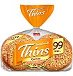 Pan para Sandwich Thins Quinoa 8 unidades (310 g) Silueta Bimbo