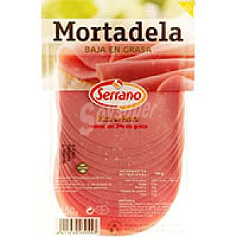 Carnicas Serrano Mortadela baja grasa sobre 150 g