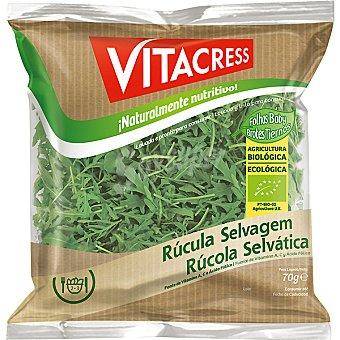 Vitacress Rúcula selvática ecológica Bolsa 70 g