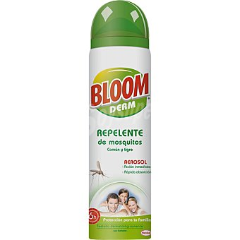 Bloom Derm repelente de mosquitos Comun y Tigre spray 100 ml accion inmediata Spray 100 ml