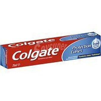 Colgate Dentífrico con fluor protección caries Tubo 75 ml
