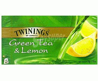 Twinings Té verde al limón 25 uds