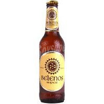 BELENOS SUPER Cerveza Botellín 33 cl