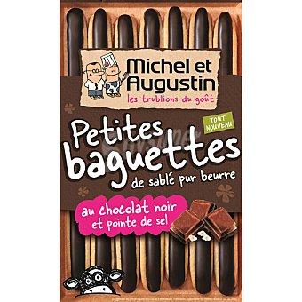 MICHEL ET AUGUS Petits baguettes con chocolate negro Estuche 90 g