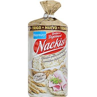 Nackis Tortitas de trigo Paquete 130 g