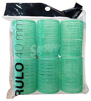 Deliplus Rulo cabello 40 MM. Paquete 6 u