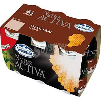 ASTURIANA Natur Activa Yogur líquido con jalea real Pack 6 unidades 100 ml