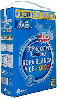 Bosque Verde Detergente lavadora polvo ropa blanca y color Paquete 2730 g