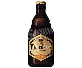 MAREDSOUS BLOND Cerveza tipo abadía belga Botella de 33 Centilitros
