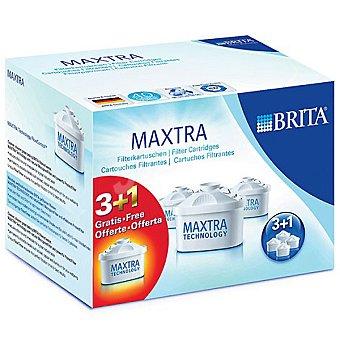 BRITA Matrax Cartuchos filtrantes 3 + 1 unidad