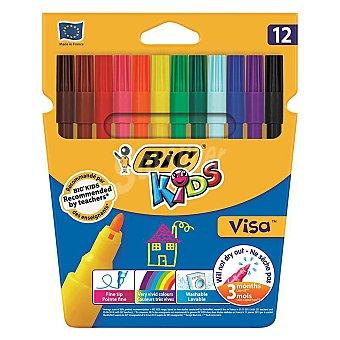 Visa Rotulador Color 12 ud