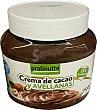 Crema cacao y avellanas  Tarro 750 g  PRALINUTTA