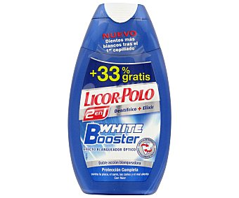 Licor del polo Dentífrico 2 En 1 Artic Fresh (dentífrico+elixir) 75ml