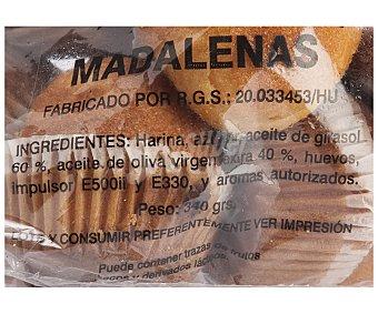 MONEGRINA DE BUJARALOZ Magdalenas Antigua Bolsa de 340 Gramos