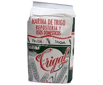 TRIGAL Harina de trigo, repostería y uso doméstico 1 Kilogramo