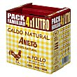 Caldo natural de pollo pack 4x1 l Aneto