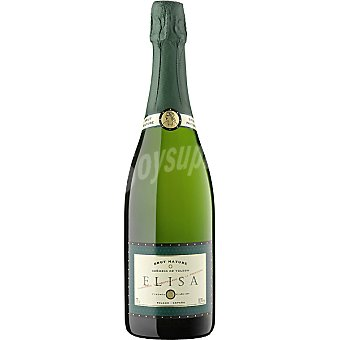 ELISA Vino blanco brut nature botella 75