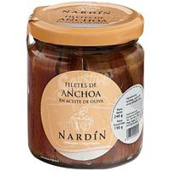 Nardin Filete de anchoa en aceite de oliva Tarro 150 g