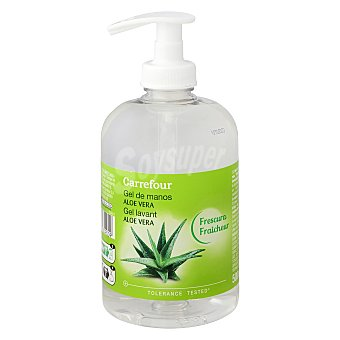 Carrefour Jabón líquido mano aloe vera 500 ml