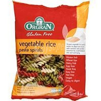 Orgran Vegetable Rice Spiral Paquete 250 g