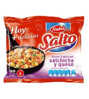 Findus Arroz tres delicias con salchicha y queso Salto 450 g