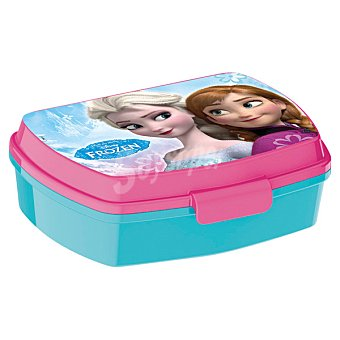 Disney Sandwichera de melamina con dibujo de Frozen