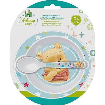 Disney Set 2 piezas especial de Winnie para microondas