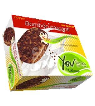 Bornay Desserts Helado superbombón crocanti sin azúcar 4 ud