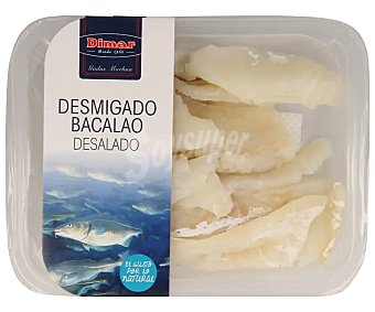 Dimar Bacalao desmigado desalado Bandeja 250 g