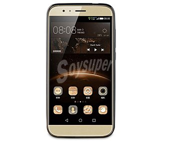 Muvit Funda trasera, Negra, compatible con smartphone Huawei G8 8 carcasa
