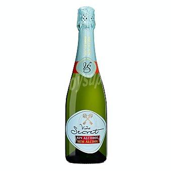 Viña Secret Vino espumoso sin alcohol Botella 75 cl