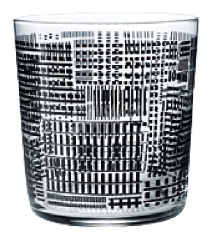 Vaso pinta decorado skyline 37CL