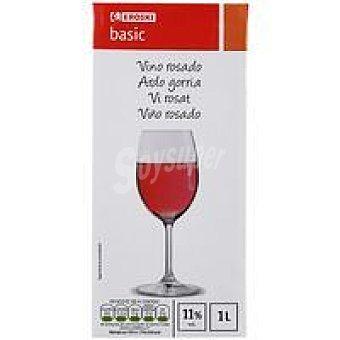 Eroski Basic Vino Rosado Brik 1 litro