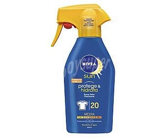 Nivea Spray solar hidratante con factor de protección 20 (media) 300 ml
