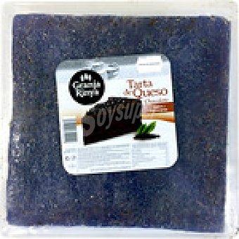 Granja rinya Tarta de queso al chocolate  1,5 kg (peso aproximado pieza)