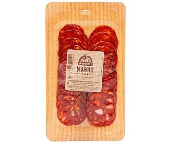 Alejandro Chorizo magno hecho con ingredientes 100% naturales, sin gluten y cortado en lonchas 100 g