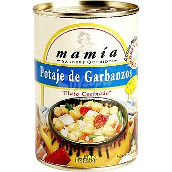 Mamía Potaje de garbanzos Lata 400 g