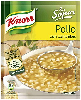 Knorr Sopa Deshidratada de Pollo con conchitas 50 gr
