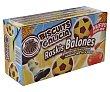 Galletas con miel y cacao roskis balones caja 350 g Biscuits Galicia