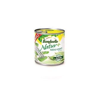 Bonduelle Natur + Judías verde planas  lata 225 g neto escurrido