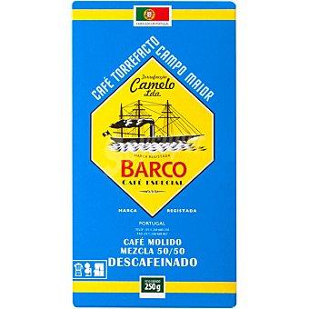 Barco Cafe molido descafeinado mezcla Paquete 250 g