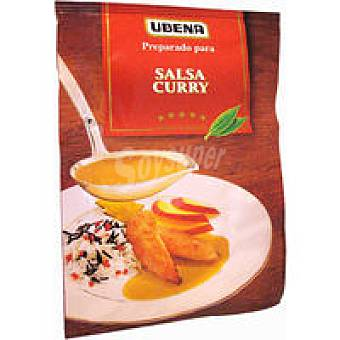Ubena Salsa al curry Frasco 25 g