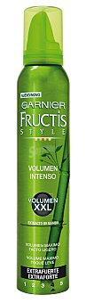 Fructis Style Garnier Espuma Volumen XXL 200 Mililitros
