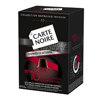 Carte Noire espresso 10 53 g - 10 cápsulas