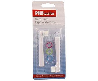 Phb Recambio cepillo eléctrico 2 unidades