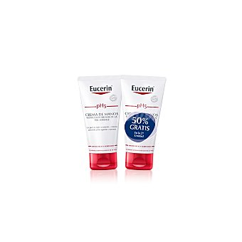 Eucerin Crema de manos pH5 Pack 2x75 ml
